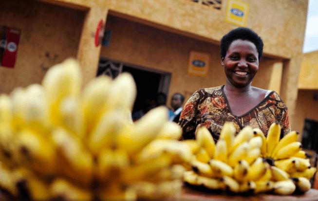 Bananas in Kigali