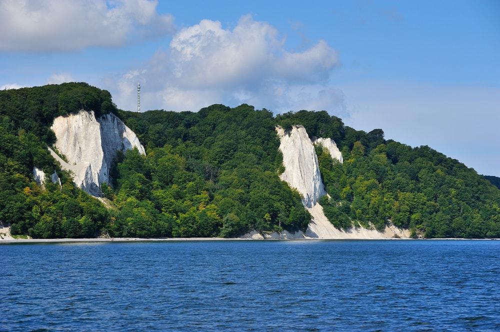 Chalks cliffs, Ruegen, Germany