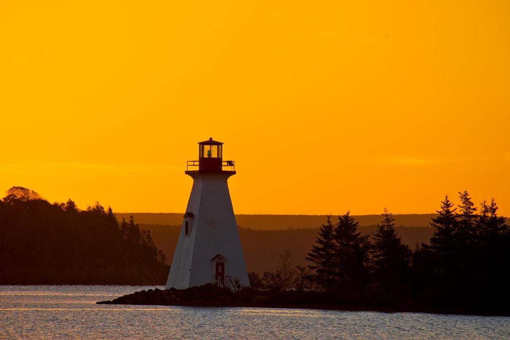 Kidston Island Lighthouse, Nova Scotia, Canada | © Paul Reeves Photography/Shutterstock