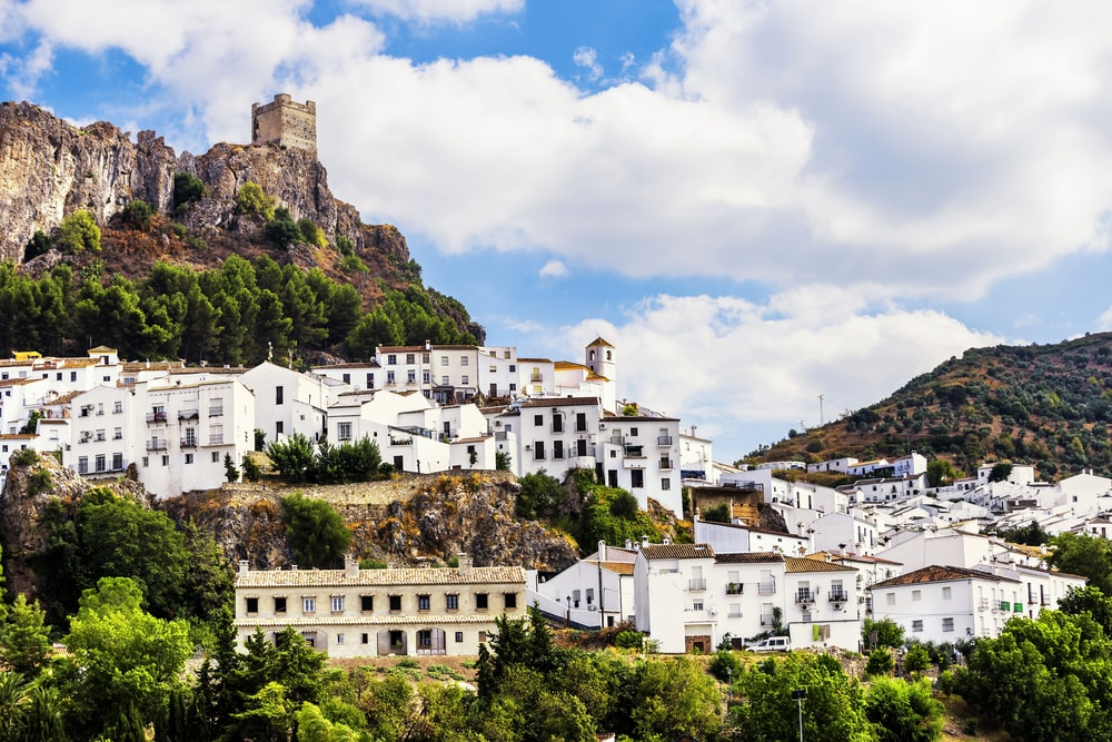 Zahara de la Sierra, in the Sierra de Grazalema, Spain | © Marques/Shutterstock