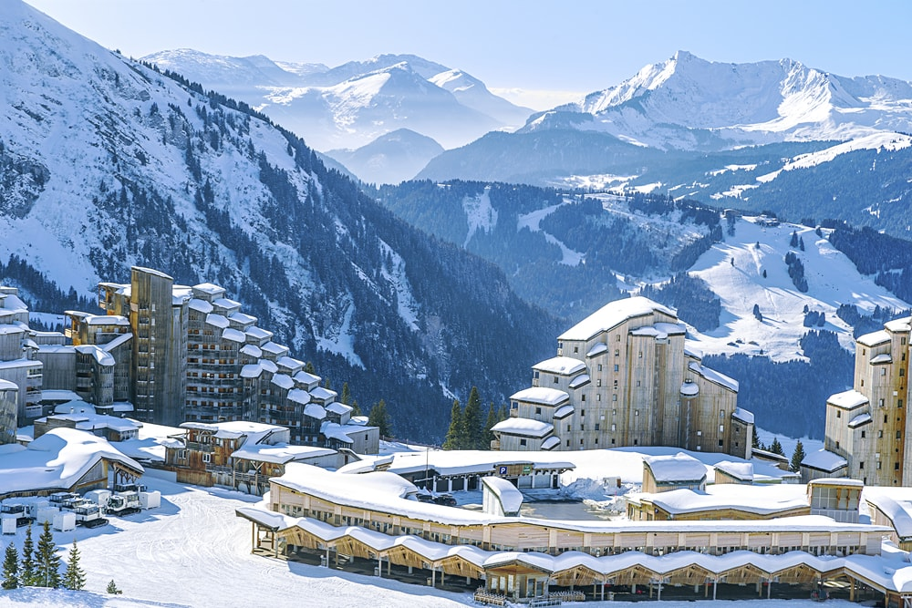 View of the village and the surrounding area Avoriaz mountains | © Sergey Naryshkin / Shutterstock