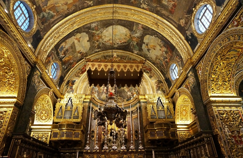 St. John's Co-Cathedral, built by the Knights of Malta | ©EQRoy/Shutterstock
