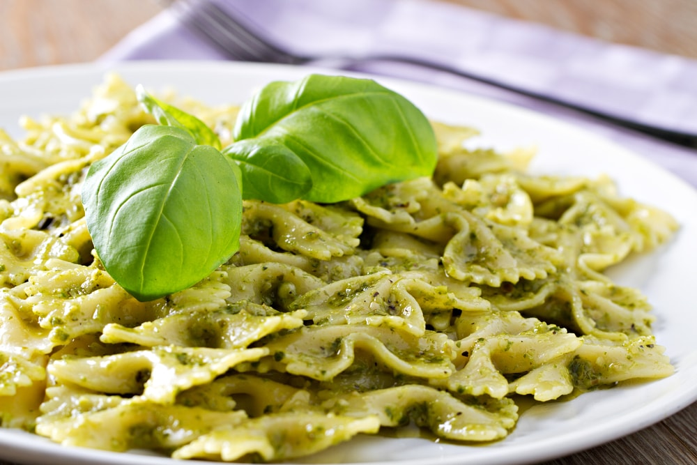 Pasta al pesto | @ svariophoto / Shutterstock