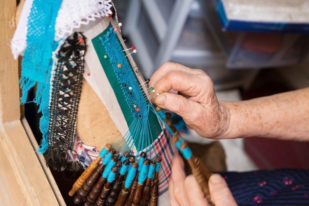 Maltese Hand-Made Tapestry, Bizzila Lace | ©Krzysztof_Jankowski/Shutterstock