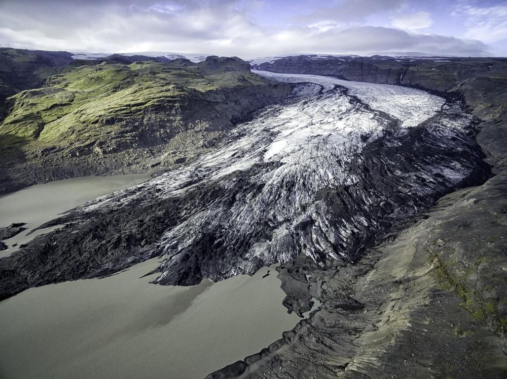 Solheimajokull Outlet Glacier, Iceland | © Johann Helgason/Shutterstock