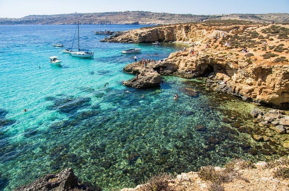 Blue Lagoon, Malta | ©baxys/Shutterstock