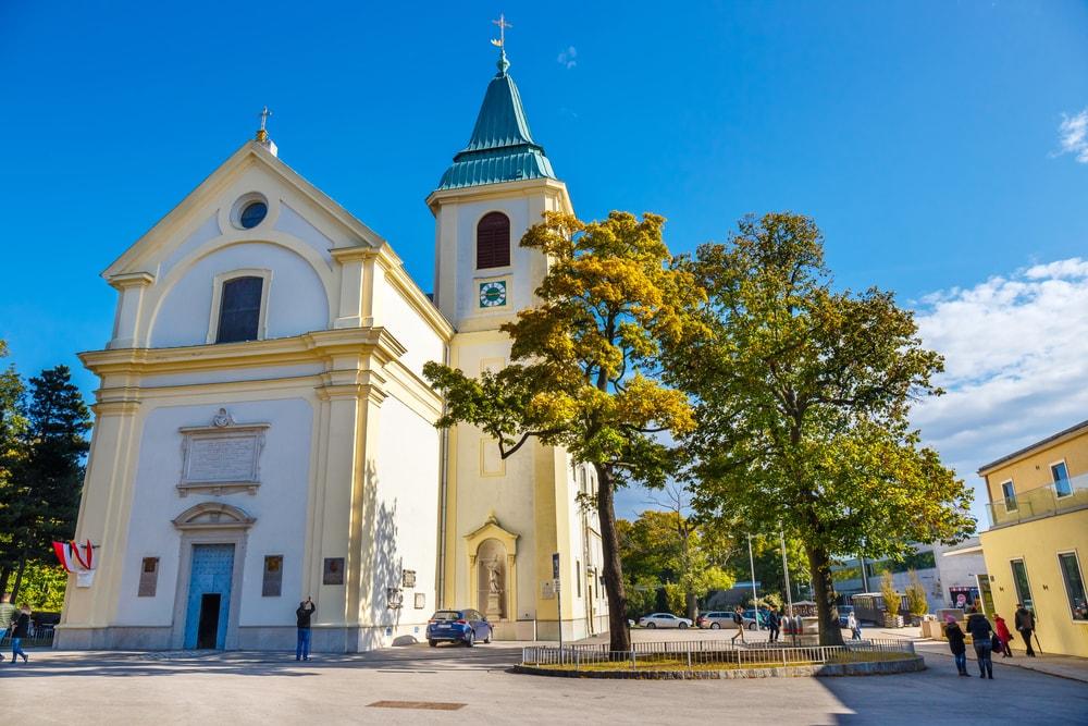 St. Josefskirche at Kahlenberg near Nussdorf in Vienna | © Dziewul/Shutterstock