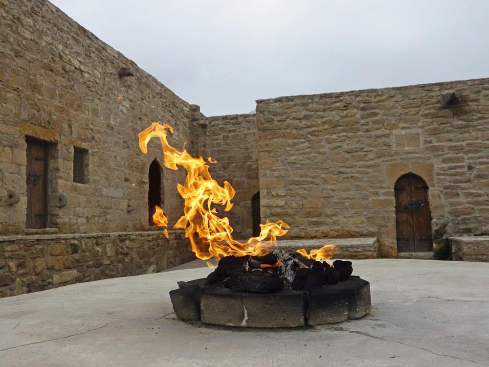 Fire in Ateshgah Temple   © LukaKikina/Shutterstock