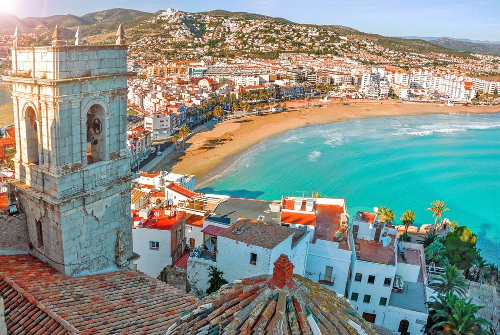 View of the sea from Pope Luna's Castle, Valencia, Spain | © karnavalfoto/Shutterstock