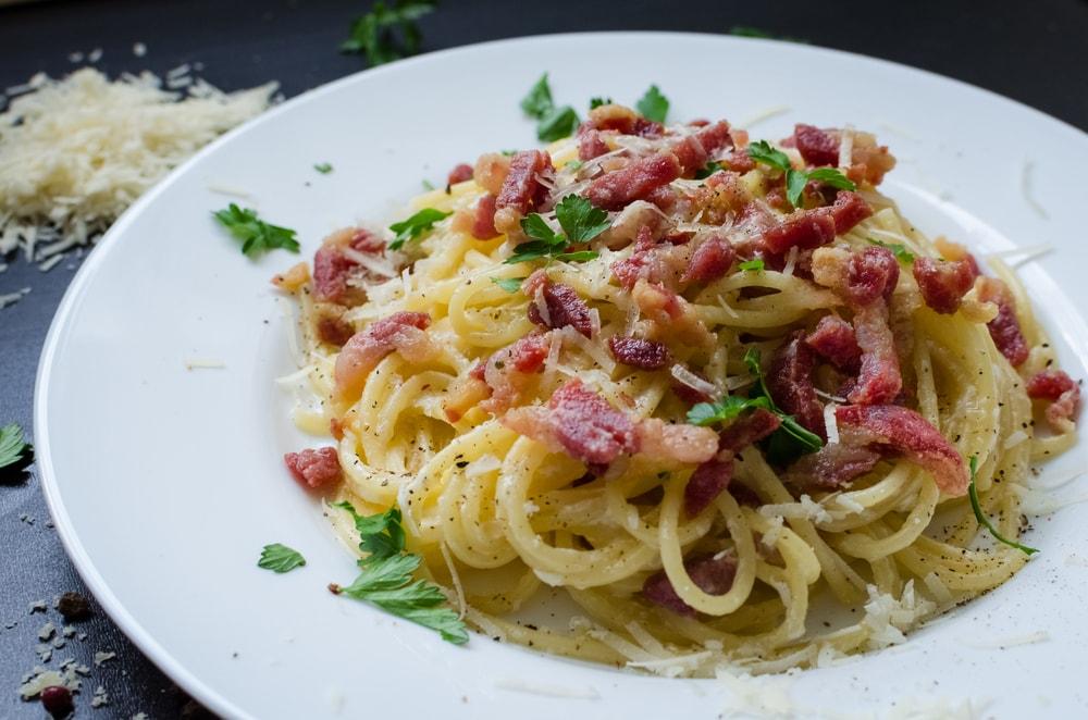 Pasta Carbonara | © Nelli Syrotynska/Shutterstock