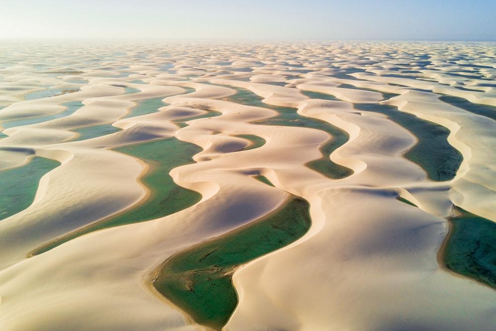 Paradise, Lencois Maranhenses National Park, Brazil | ©Pakawat Thongcharoen/Shutterstock