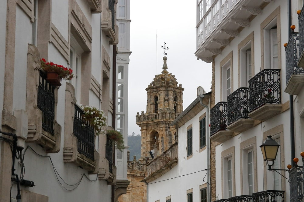 Bell tower of Mondoñedo Cathedral | © M.Martinho/Shutterstock