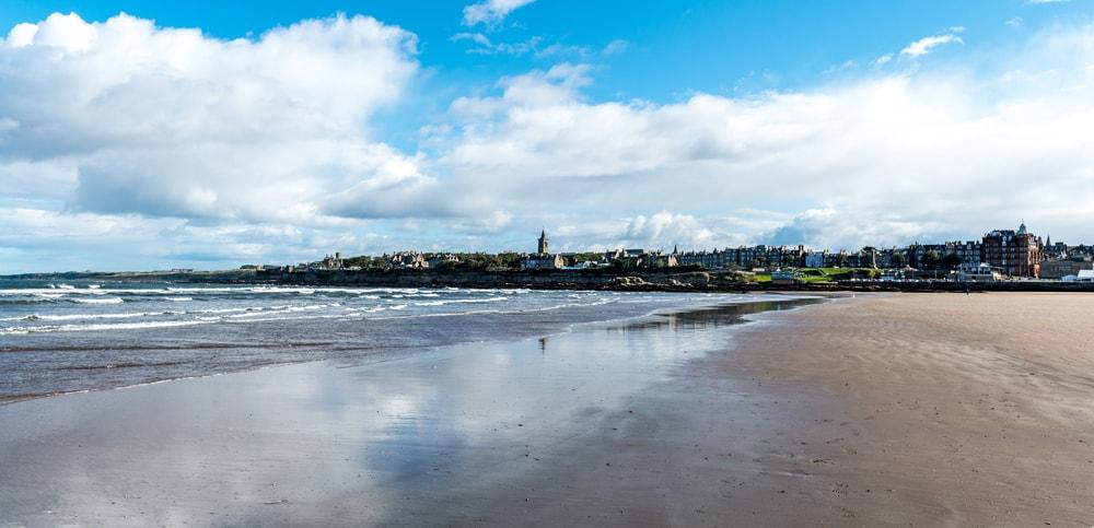 Saint Andrews from the Beach, Fife, Scotland | ©Zachary L. Gross/Shutterstock