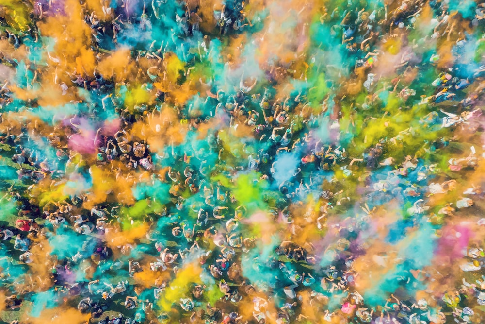 Holi Festival from above | © Anton Watman/Shutterstock