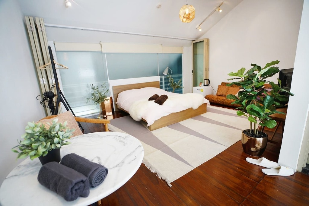 Singapore Airbnb Kinfolk Room Petain