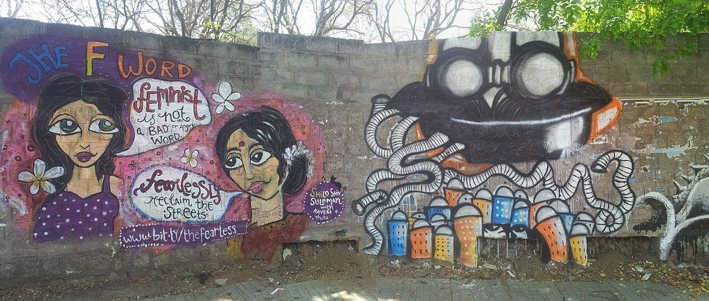 street art Bangalore