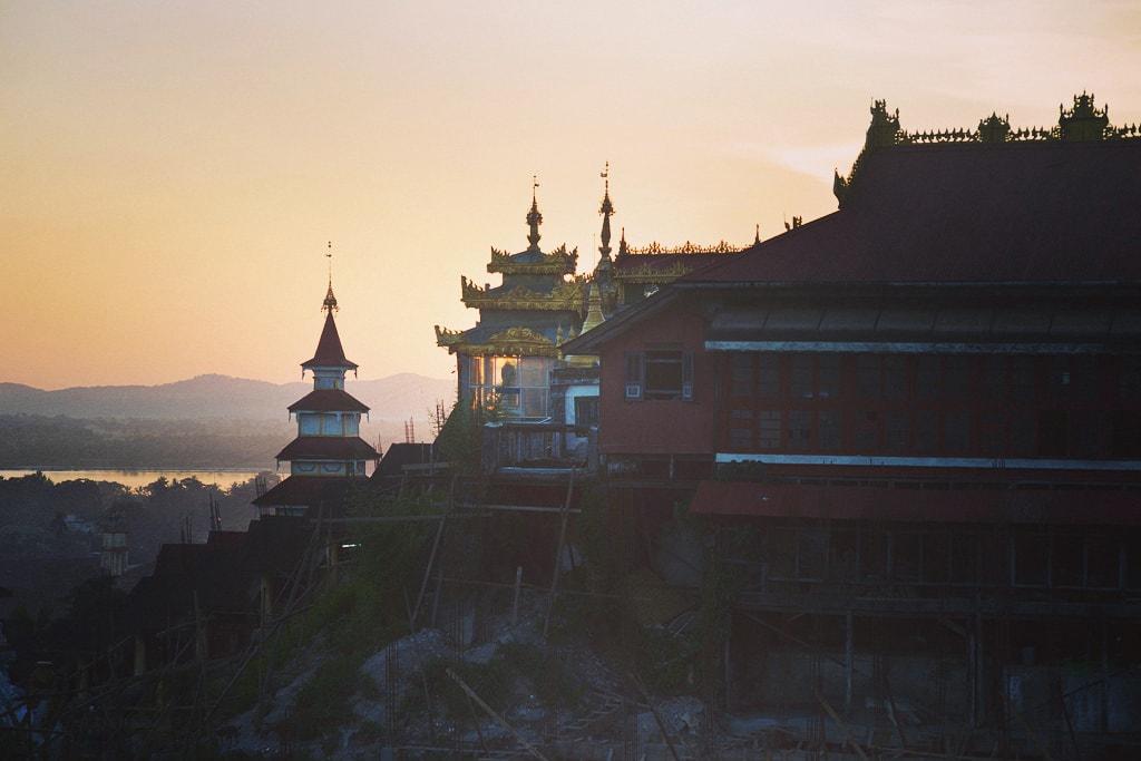 Sunset-in-Mawlaymine-Myanmar