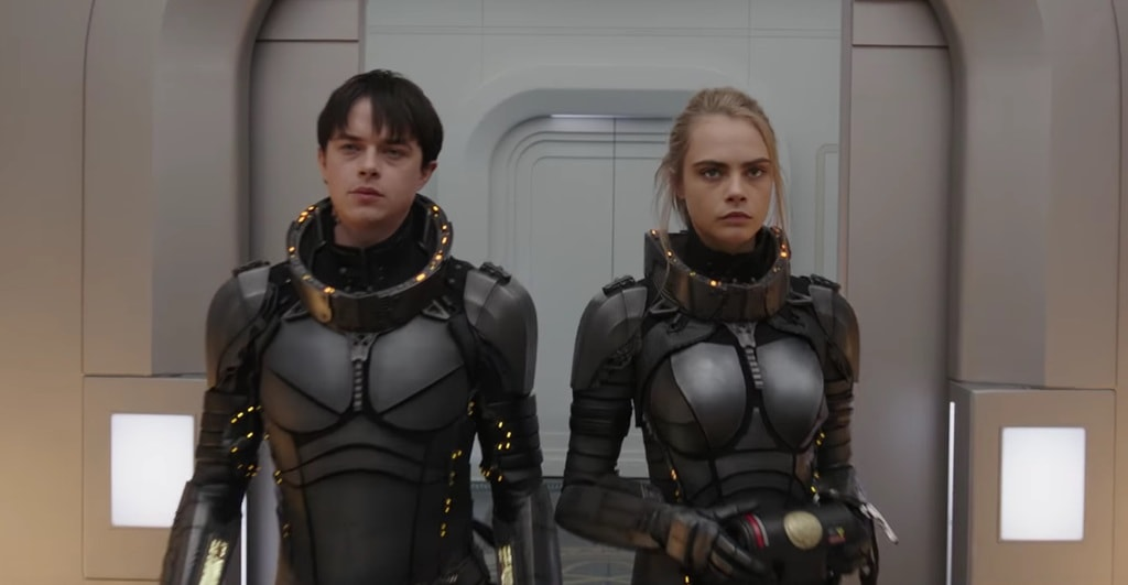 Dane DeHaan and Cara Delevingne in 'Valerian and the City of a Thousand Planets' | © EuropaCorp Distribution