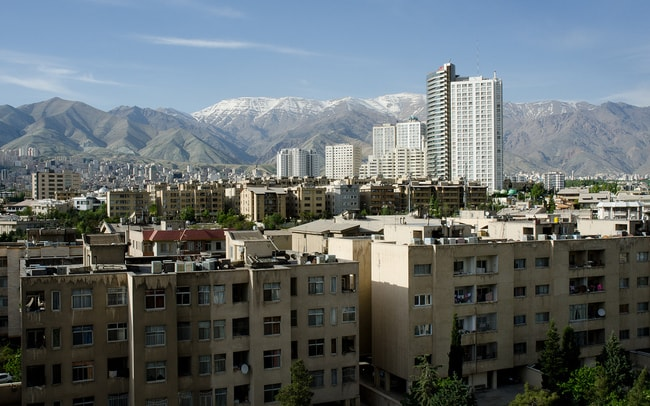 View of the Alborz Mountains from Northern Tehran   ©Kamyar Adl:flickr