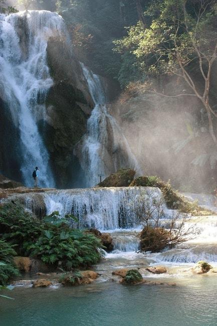 Waterfall Laos   © Korpiri/Pixabay