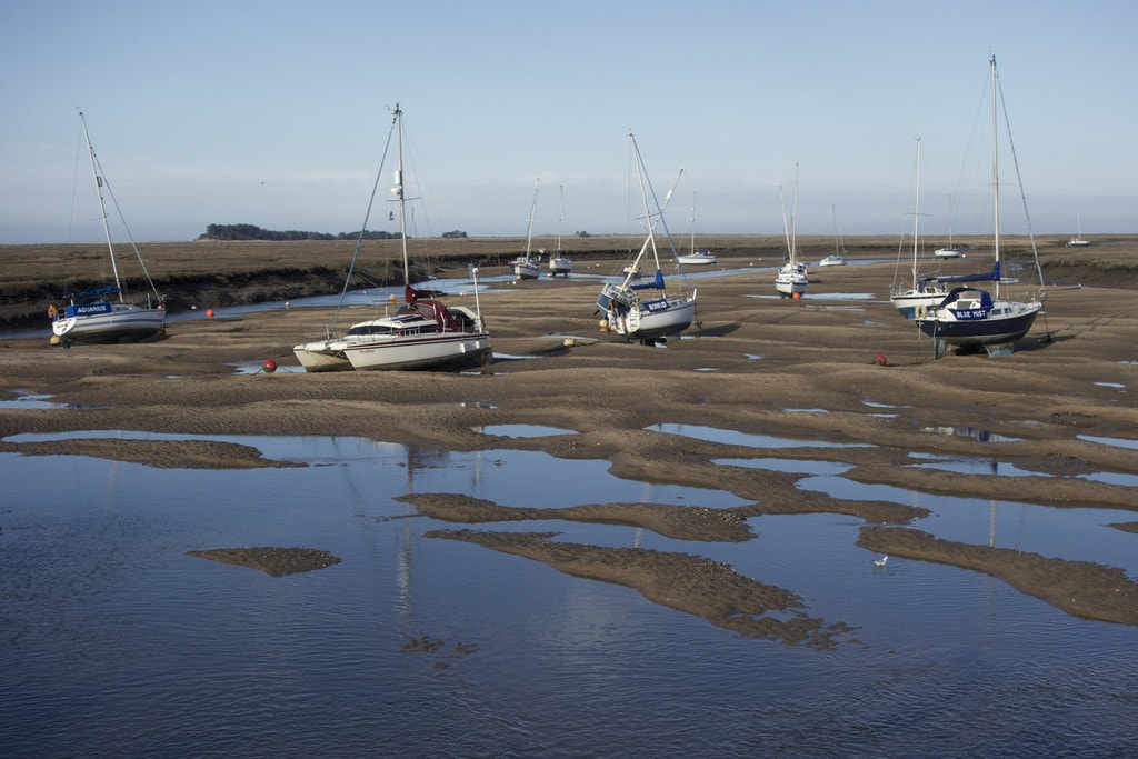 Wells-next-the-Sea Boats   ⓒ Stew Dean/Flickr