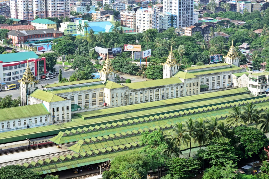 Yangon-Central-Railway-Station