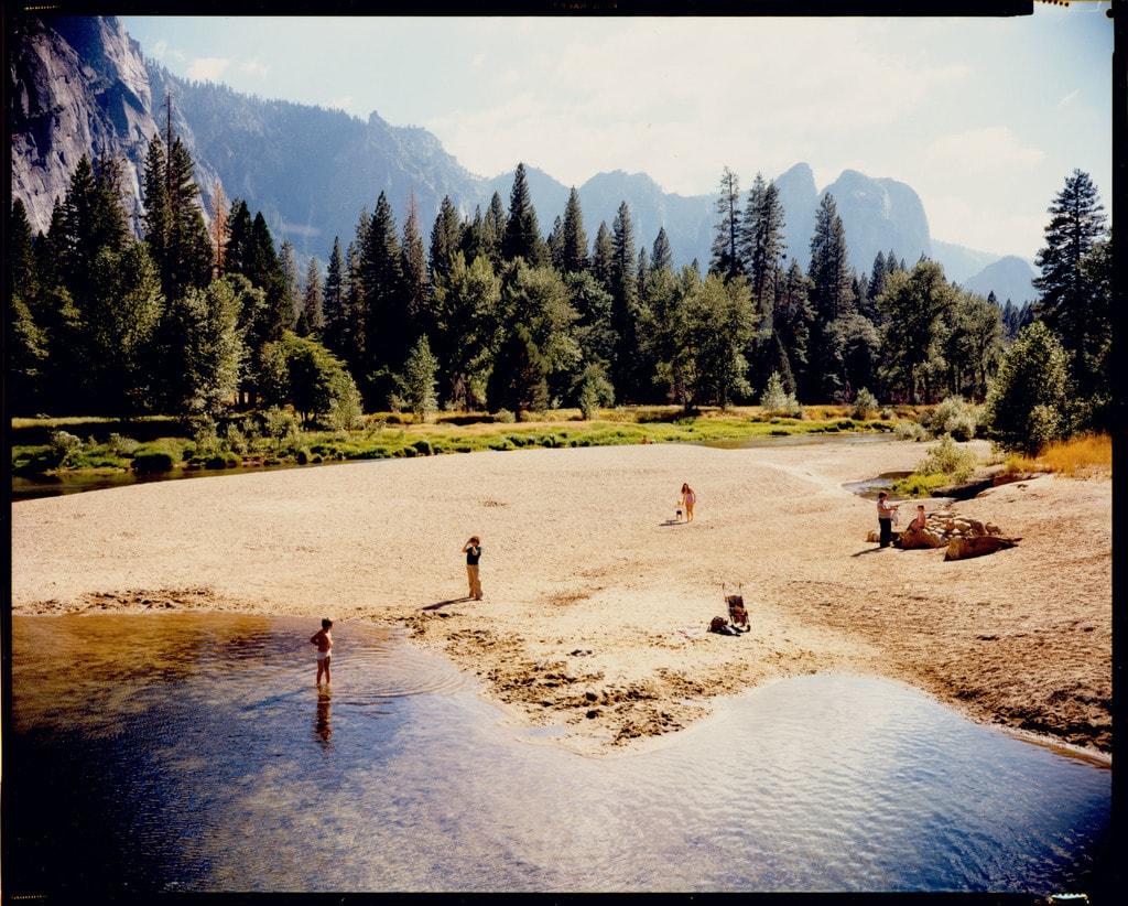 © STEPHEN SHORE, Merced River, Yosemite, National Park, California, August 13, 1979. Courtesy of Edwynn Houk Gallery (New York & Zurich)