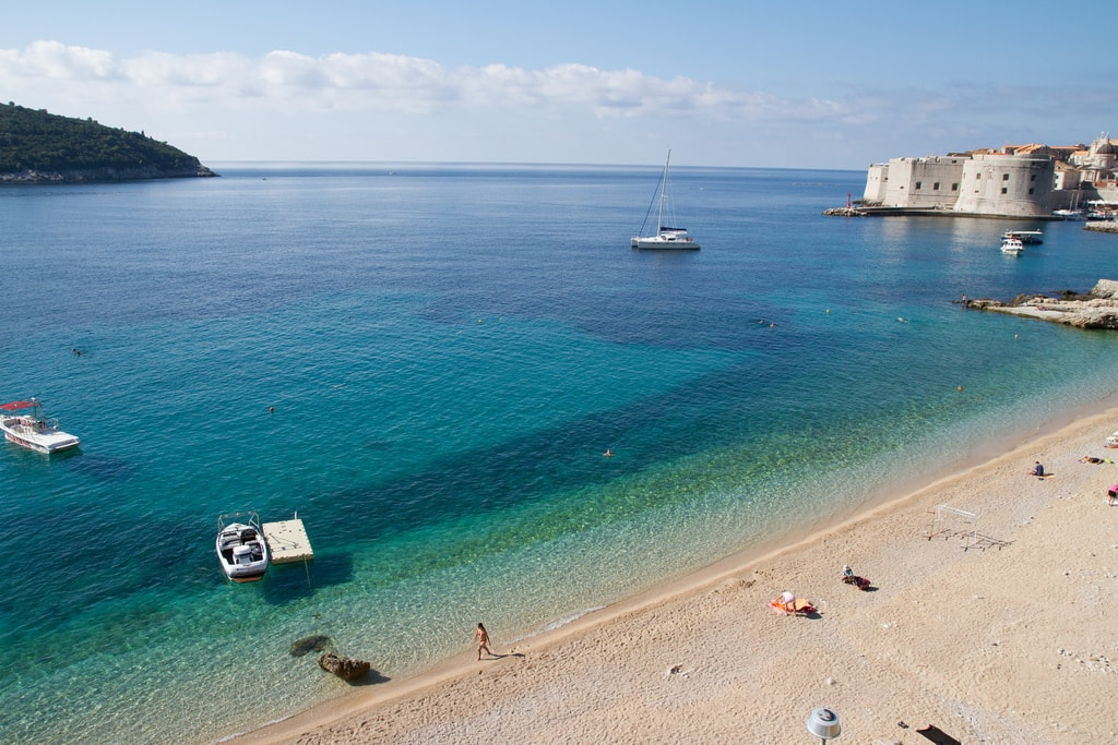 Dubrovnik beach   © Joanne Goldby/Flickr