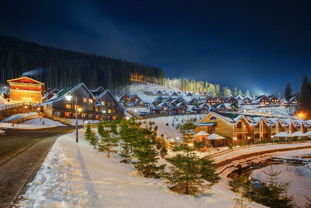 Bukovel Ukraine Ski resort