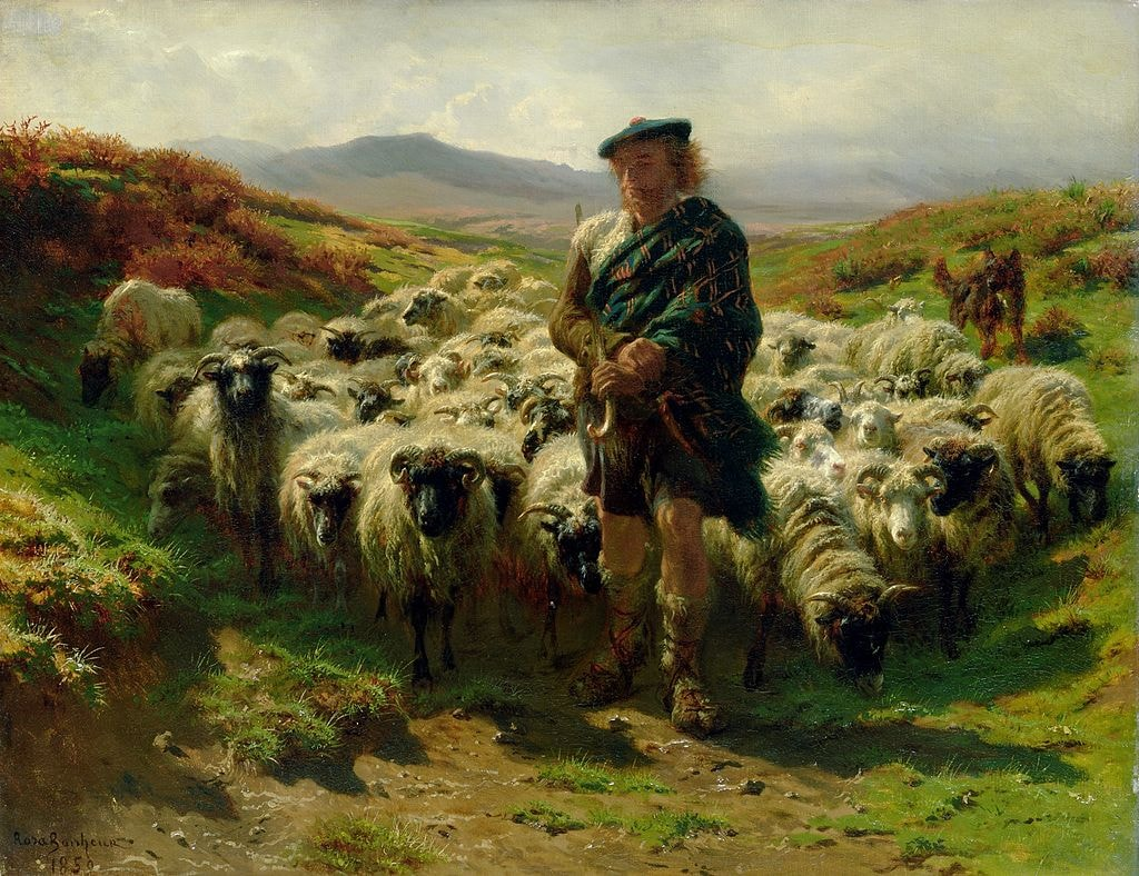 The Highland Shepherd | © Rosa Bonheur [Public domain], via Wikimedia Commons