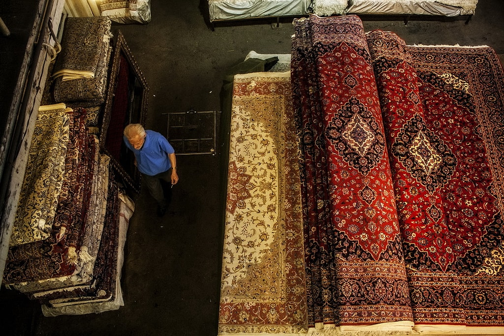 Rug Bazaar | © Mad Roodgoli / Flickr