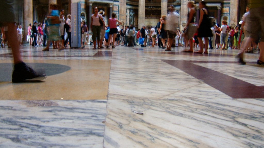 Don't forget to look down as well as up in the Pantheon   © Andy Hay/Flickr