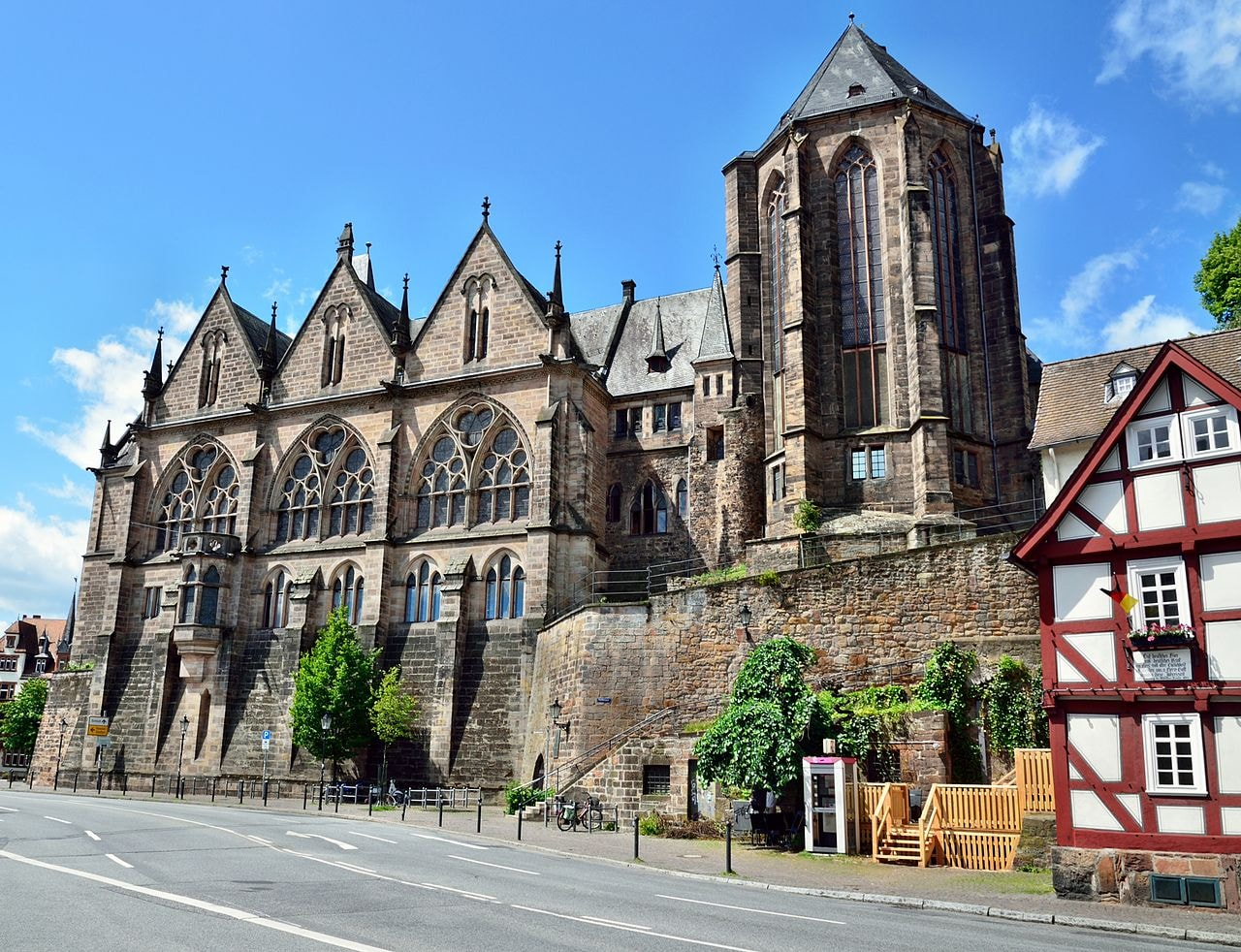 Old Marburg University building
