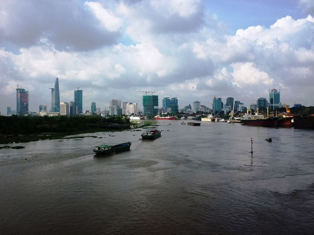 The Saigon River | © Ngô Trung/WikiCommons