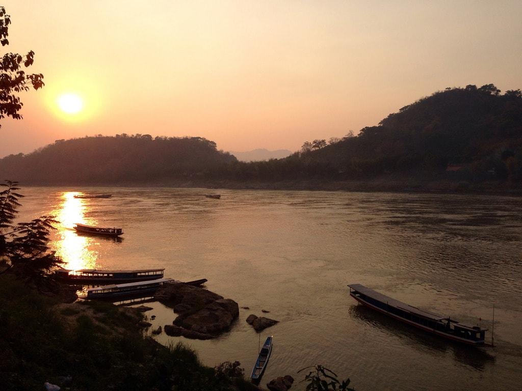 A Mekong sunset | © Nika Vee/Flickr