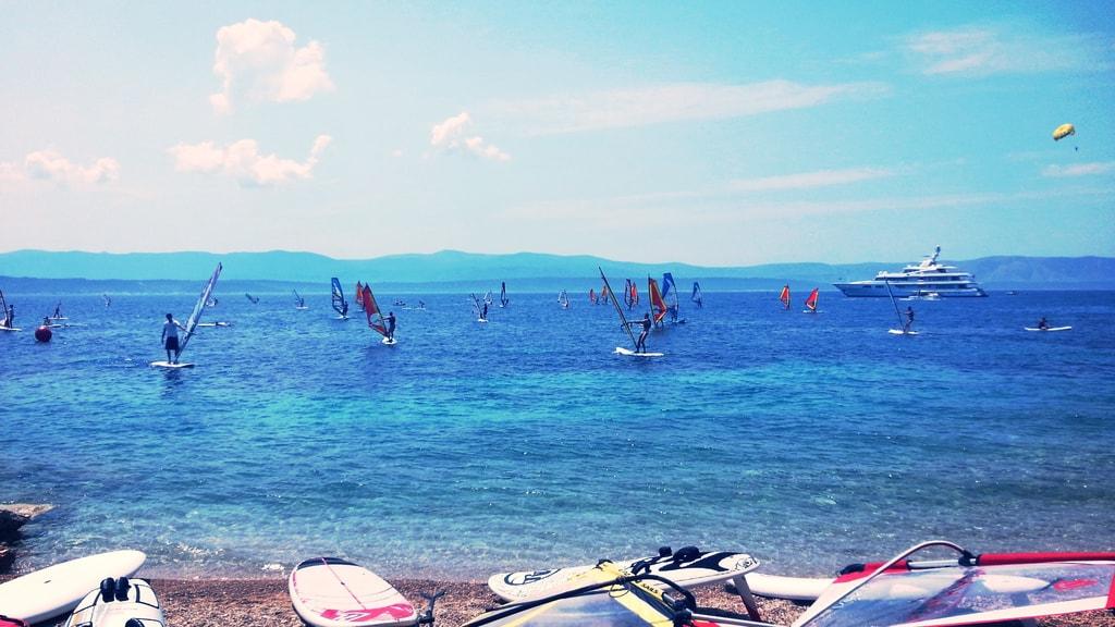 Windsurfing in Croatia   © Rok Hodej/Flickr