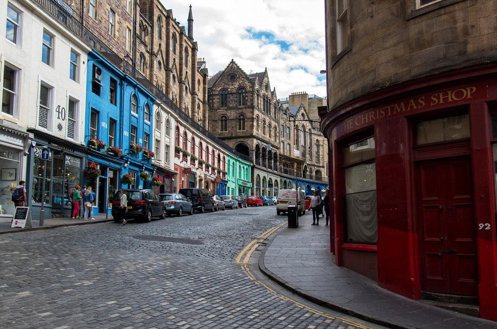 Victoria Street, Edinburgh | © Raphaël Chekroun / Flickr