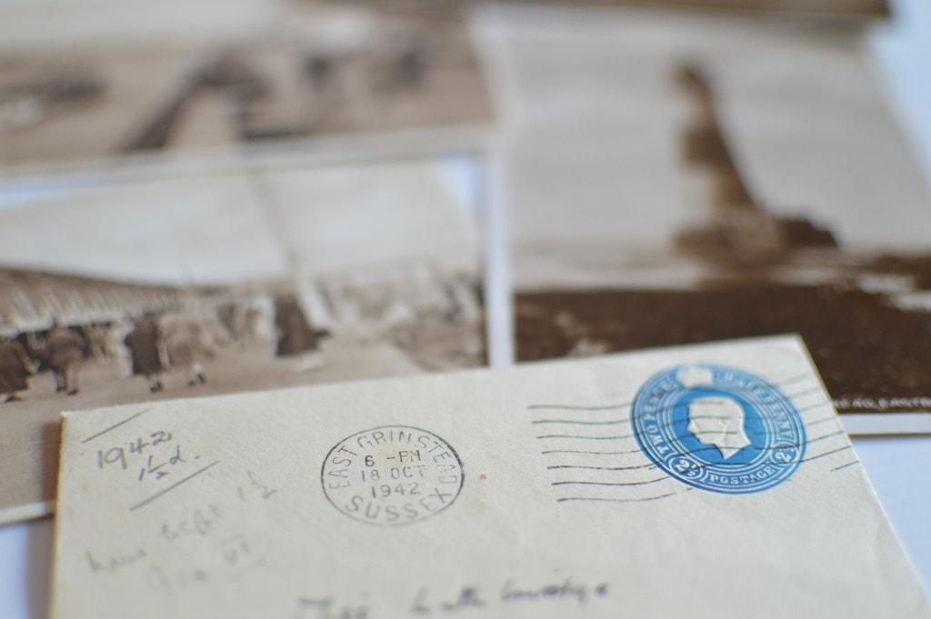 Vintage letter and stamps   © Jeff Djevdet/Flickr