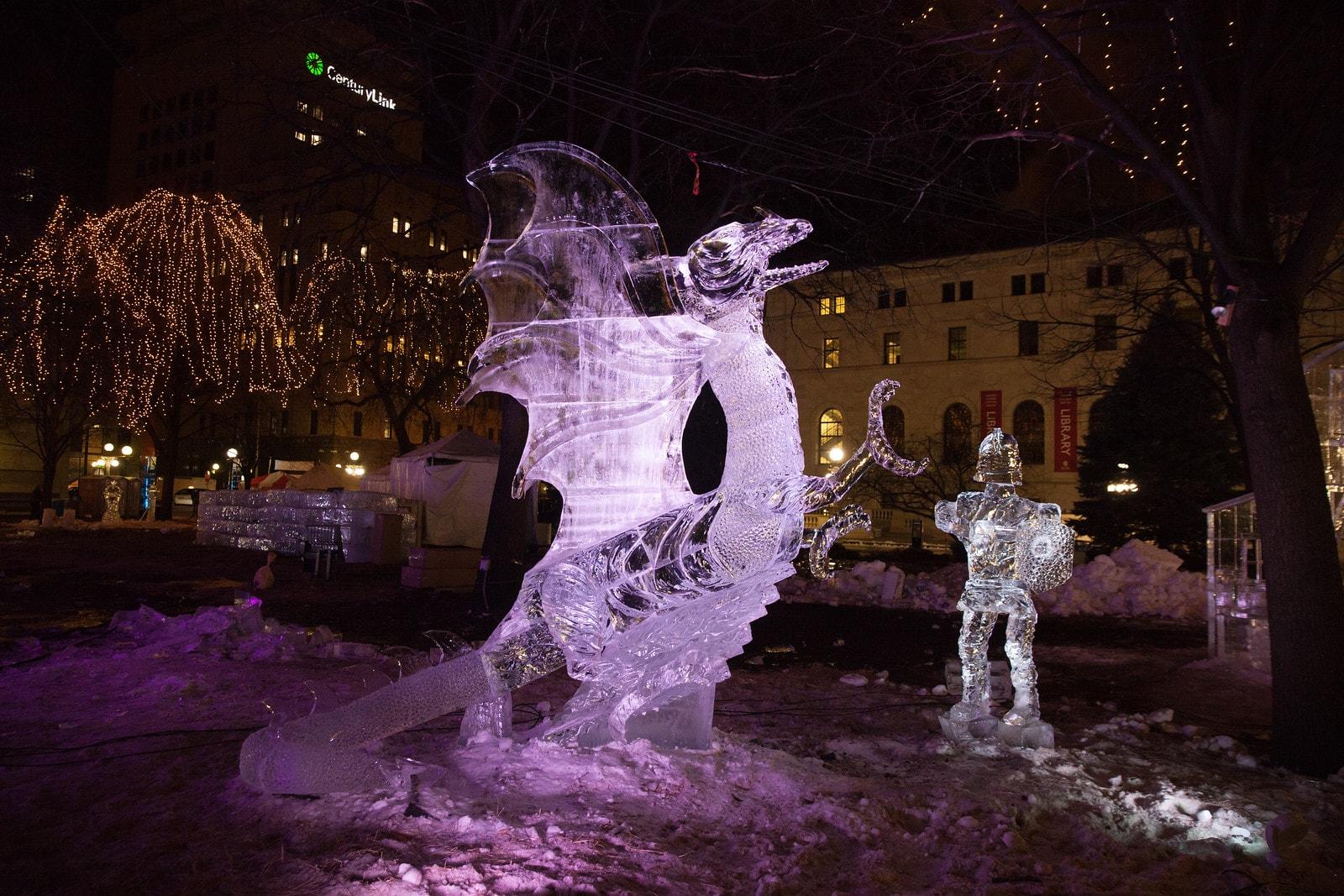 St. Paul Winter Carnival | © Darrin Johnson/Courtesy of St. Paul Winter Festival