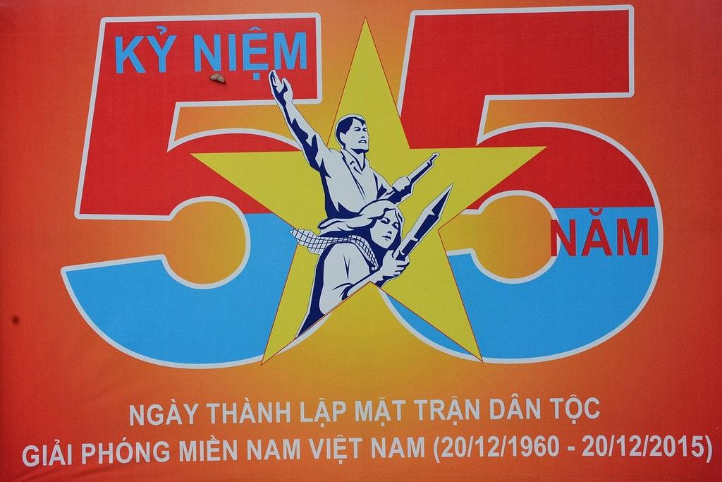 Communist propaganda poster | © Paul Arps/Flickr