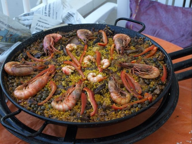 Seafood paella © EnGuillem