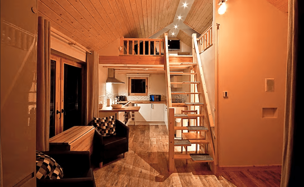 3. Modern living Courtesy of AirBnb