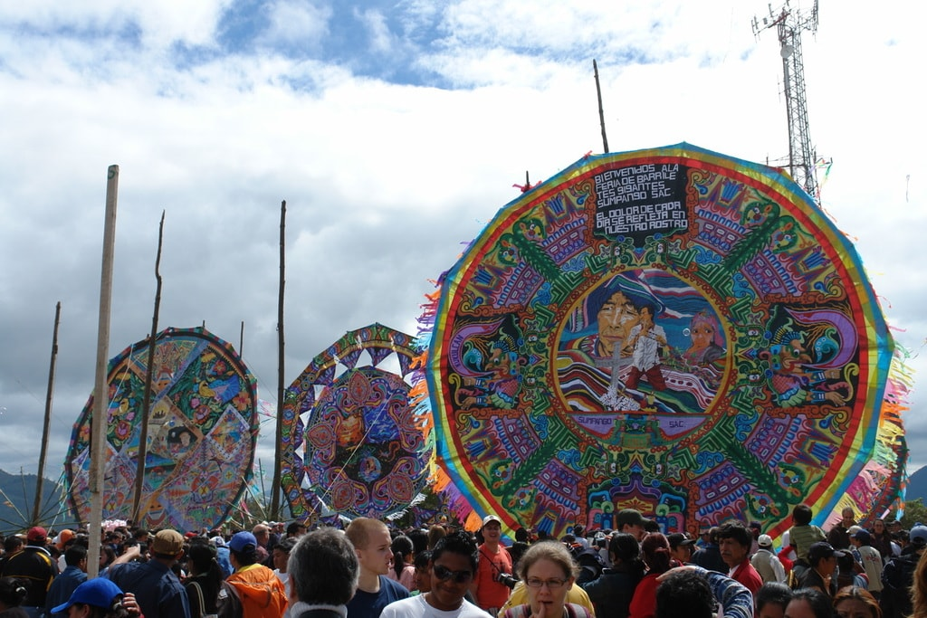Why Do Guatemalans Build Giant Kites To Celebrate All