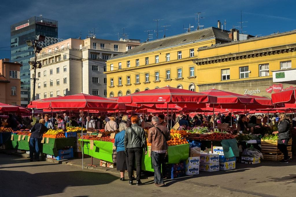Dolac, Zagreb   © Jorge Franganillo/Flickr