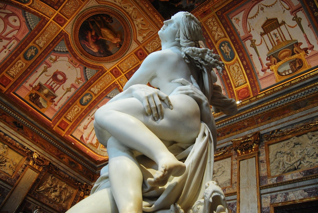 The Rape of Proserpina by Bernini in Galleria Borghese | © Ana Rey/Flickr
