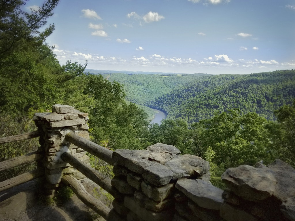 6 Scenic Places to Go Camping in Morgantown, West Virginia