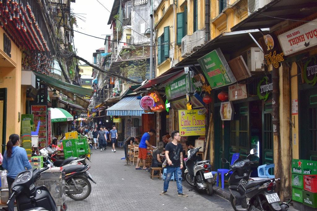 Old Quarter, Hanoi | © Richard Mortel/Flickr