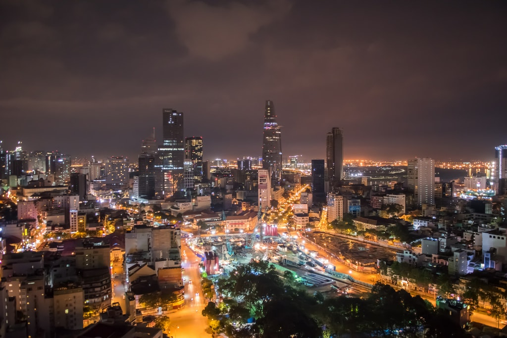 The party never stops in Saigon | © dronepicr/Flickr