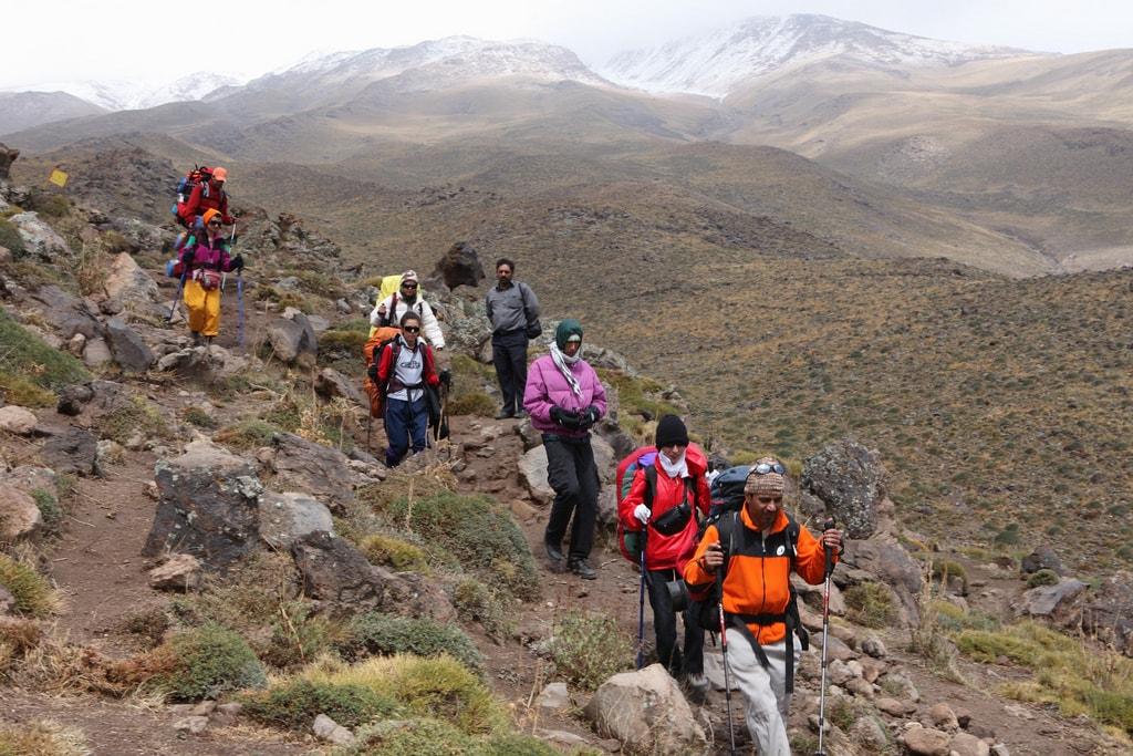 Hike from Mt. Damavand   © Ninara / Flickr