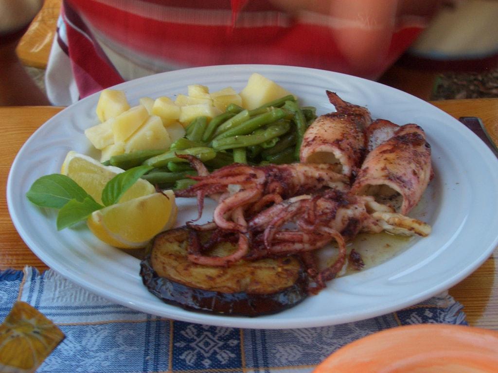 Croatian seafood | © Saskia Heijltjes/Flickr